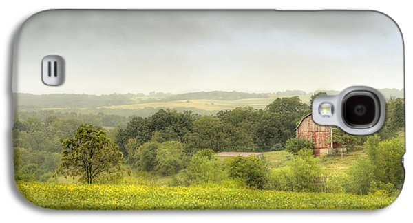 Crops Galaxy S4 Cases - Pastoral Barn Galaxy S4 Case by Scott Norris
