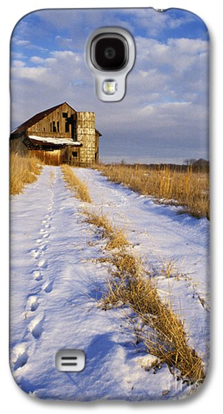 Indiana Scenes Galaxy S4 Cases - Pathway to Shelter - FS000412 Galaxy S4 Case by Daniel Dempster