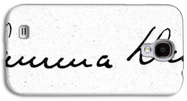 African-american Galaxy S4 Cases - Paul L. Dunbar (1872-1906) Galaxy S4 Case by Granger