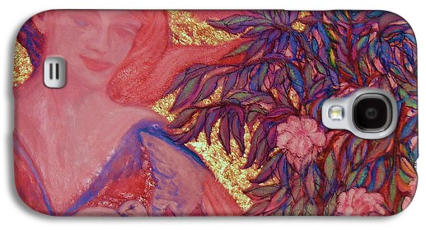 Posters On Sculptures Galaxy S4 Cases - Peace - Art Deco Galaxy S4 Case by Gunter  Hortz