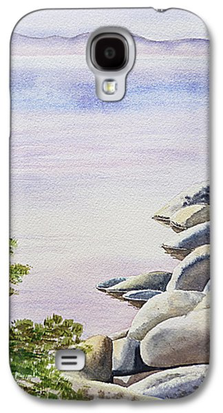 Affirmation Galaxy S4 Cases - Peaceful Place Morning at The Lake Galaxy S4 Case by Irina Sztukowski