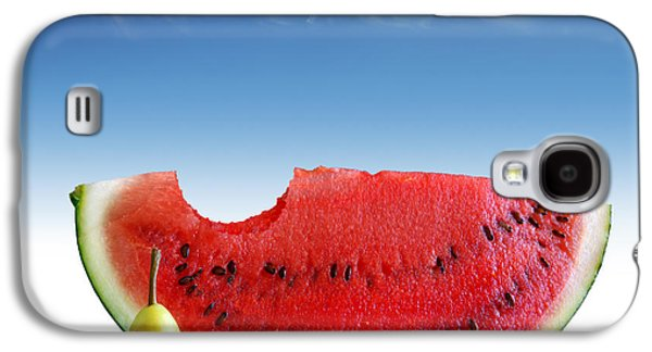 Biting Galaxy S4 Cases - Pears and Melon Galaxy S4 Case by Carlos Caetano