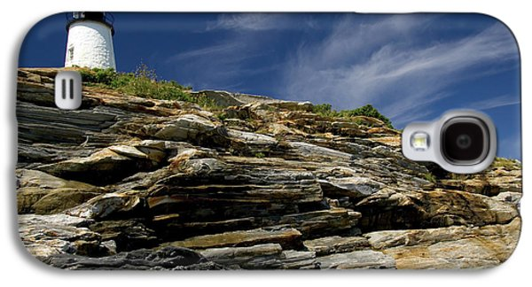 Pemaquid Point Lighthouse Galaxy S4 Case by Rick Berk