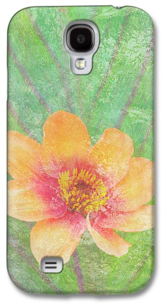 Butterflies Galaxy S4 Cases - Perfect Peach Galaxy S4 Case by JQ Licensing