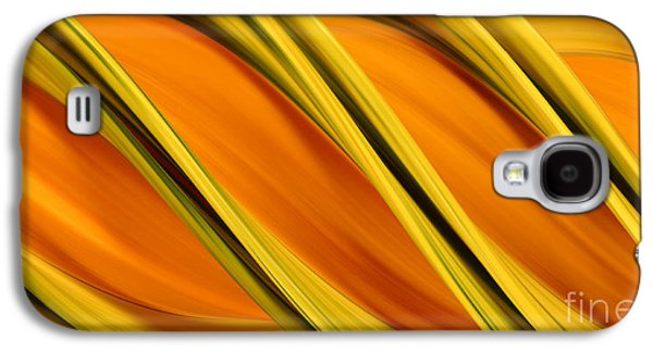 Designs In Nature Galaxy S4 Cases - Peripheral Streak Image Of Squash Galaxy S4 Case by Ted Kinsman