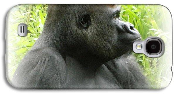 Gorilla Digital Galaxy S4 Cases - Pertinax in oil Galaxy S4 Case by Sharon Lisa Clarke