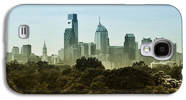 Phillies Digital Galaxy S4 Cases - Philly Panorama Galaxy S4 Case by Bill Cannon