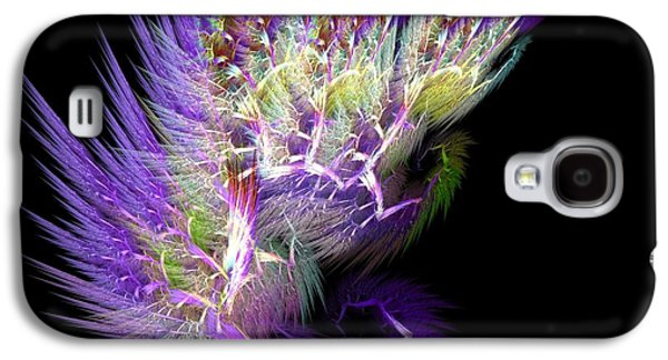 Extinct And Mythical Digital Galaxy S4 Cases - Phoenixs Wing Galaxy S4 Case by Lourry Legarde