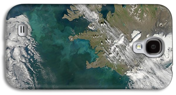 Phytoplankton Photographs Galaxy S4 Cases - Phytoplankton Bloom In The North Galaxy S4 Case by Stocktrek Images