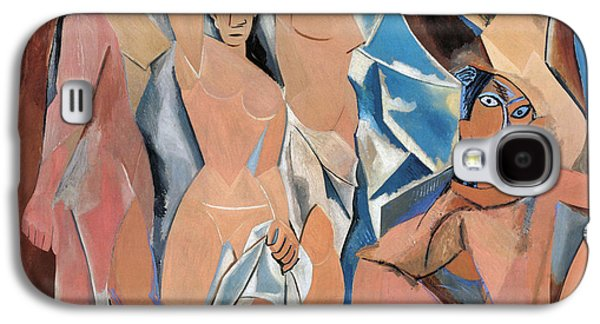 1907 Galaxy S4 Cases - Picasso Demoiselles 1907 Galaxy S4 Case by Granger