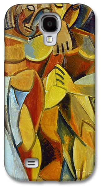 1907 Galaxy S4 Cases - Picasso: Friendship, 1907 Galaxy S4 Case by Granger