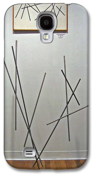 Abstracts Sculptures Galaxy S4 Cases - Pick Up Sticks and Thunderbird Galaxy S4 Case by John Neumann