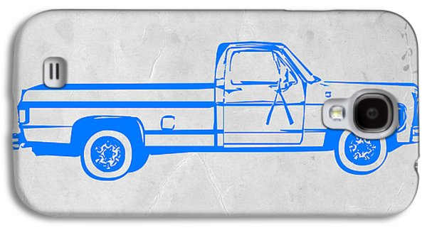 Pick Up Truck Galaxy S4 Case by Naxart Studio