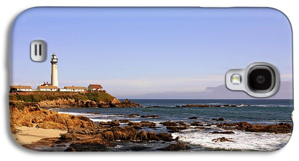 Coast Highway One Galaxy S4 Cases - Pigeon Point Lighthouse CA Galaxy S4 Case by Christine Till