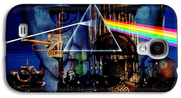 Pink Digital Art Galaxy S4 Cases - Pink Floyd Montage Galaxy S4 Case by P Donovan