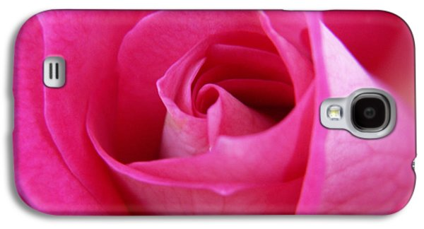 Roses Galaxy S4 Cases - Pink Rose Galaxy S4 Case by Amy Fose