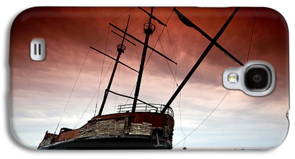 Pirate Ship Galaxy S4 Cases - Pirate Ship 2 Galaxy S4 Case by Cale Best