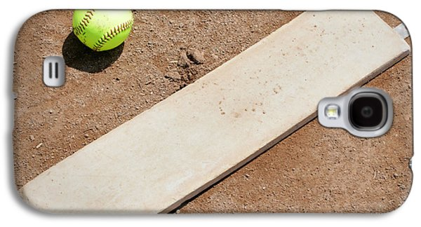 Softball Photographs Galaxy S4 Cases - Pitchers Mound Galaxy S4 Case by Kelley King