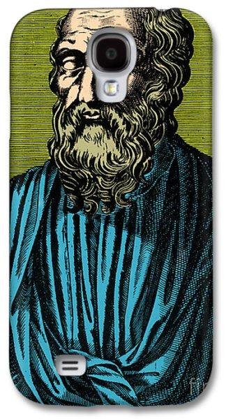 Statue Portrait Galaxy S4 Cases - Plato, Ancient Greek Philosopher Galaxy S4 Case by Photo Researchers