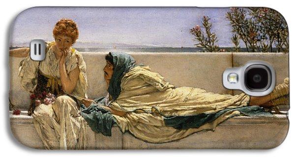 Pleading Galaxy S4 Case by Sir Lawrence Alma-Tadema