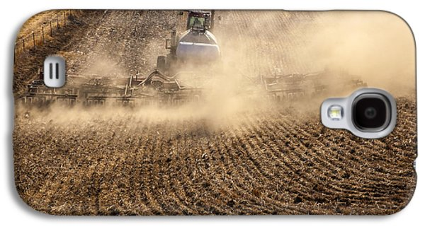 Plow Galaxy S4 Cases - Plowing the Ground Galaxy S4 Case by Mike  Dawson