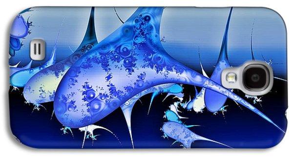 Whale Digital Art Galaxy S4 Cases - Pod Galaxy S4 Case by Sharon Lisa Clarke