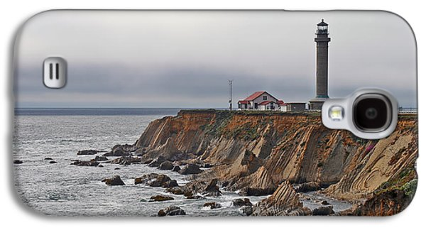 Coast Highway One Galaxy S4 Cases - Point Arena Lighthouse CA Galaxy S4 Case by Christine Till