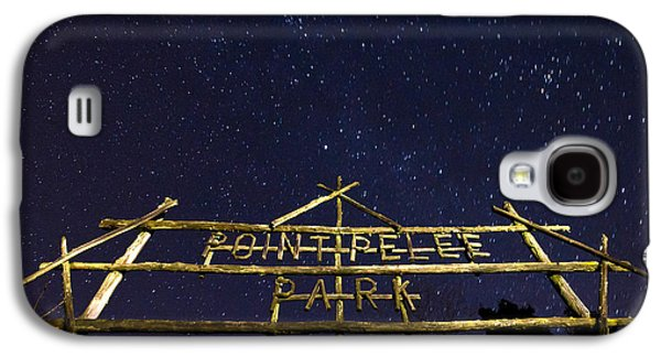 Winter Light Galaxy S4 Cases - Point Pelee Under the Stars Galaxy S4 Case by Cale Best