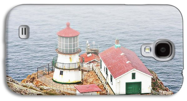 Coast Highway One Galaxy S4 Cases - Point Reyes Lighthouse at Point Reyes National Seashore CA Galaxy S4 Case by Christine Till