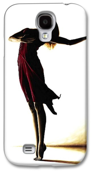 Ballerinas Galaxy S4 Cases - Poise in Silhouette Galaxy S4 Case by Richard Young