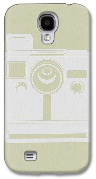 Camera Galaxy S4 Cases - Polaroid Camera 2 Galaxy S4 Case by Naxart Studio