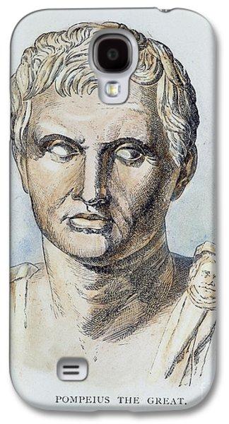Statue Portrait Galaxy S4 Cases - Pompey (106-48 B.c.) Galaxy S4 Case by Granger
