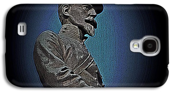 Statue Portrait Mixed Media Galaxy S4 Cases - Portrait 29 American Civil War Galaxy S4 Case by David Dehner