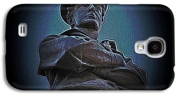 Statue Portrait Galaxy S4 Cases - Portrait 33 American Civil War Galaxy S4 Case by David Dehner