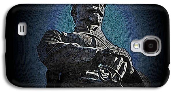 Statue Portrait Mixed Media Galaxy S4 Cases - Portrait 36 American Civil War Galaxy S4 Case by David Dehner