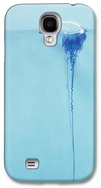 Tendrils Galaxy S4 Cases - Portugese Man o War Galaxy S4 Case by Dave Fleetham - Printscapes