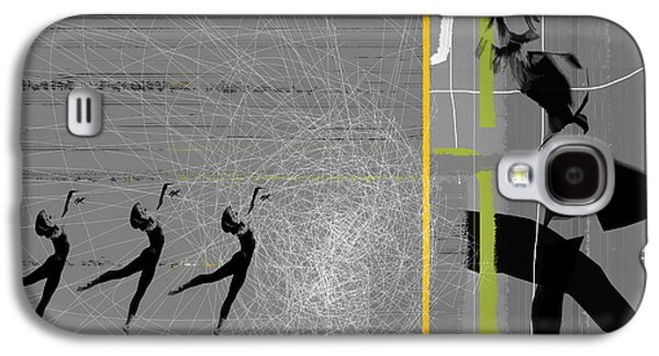 Sport Digital Art Galaxy S4 Cases - Pose and Jump Galaxy S4 Case by Naxart Studio