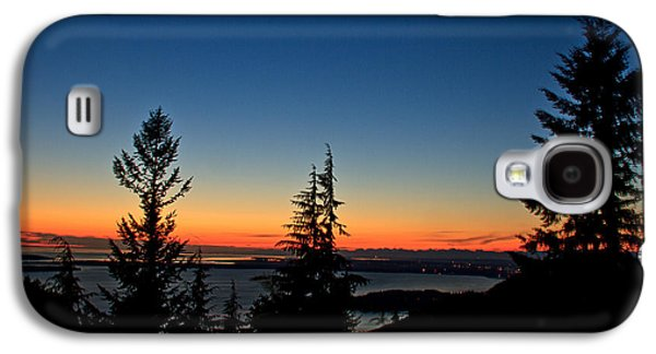Haybale Galaxy S4 Cases - After The Sunset Galaxy S4 Case by Robert Bales