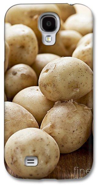 Local Food Galaxy S4 Cases - Potatoes Galaxy S4 Case by Elena Elisseeva