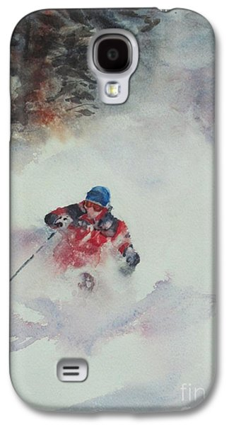 Elizabeth Carr Galaxy S4 Cases - Powder Galaxy S4 Case by Elizabeth Carr
