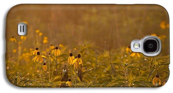 Prairie Galaxy S4 Cases - Prairie Wildflowers Galaxy S4 Case by Steve Gadomski