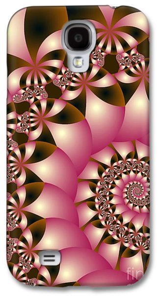 Digital Art Greeting Cards Galaxy S4 Cases - Precious Galaxy S4 Case by Sandra Bauser Digital Art