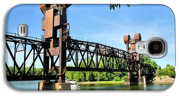 Prescott Photographs Galaxy S4 Cases - Prescott Lift Bridge Galaxy S4 Case by Kristin Elmquist