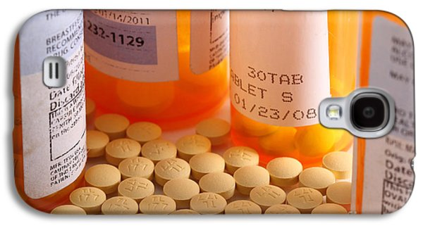 Pill Galaxy S4 Cases - Prescription Pills Galaxy S4 Case by Photo Researchers, Inc.