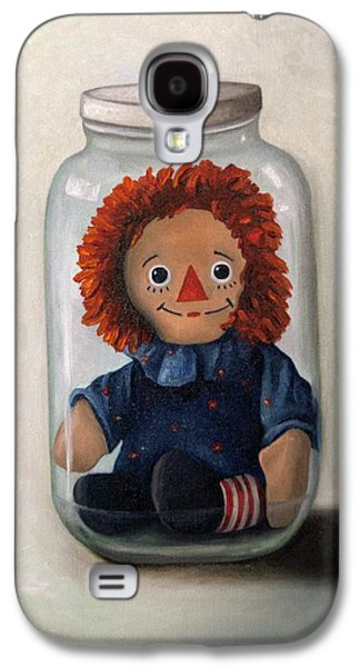 Mason Jars Galaxy S4 Cases - Preserving Childhood 2 Galaxy S4 Case by Leah Saulnier The Painting Maniac