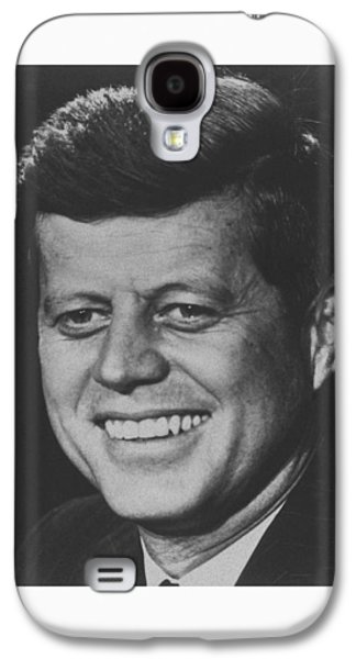 Democrat Mixed Media Galaxy S4 Cases - President John Kennedy Galaxy S4 Case by War Is Hell Store