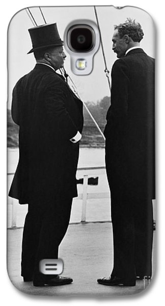 America First Party Galaxy S4 Cases - President Roosevelt And Gifford Pinchot Galaxy S4 Case by Photo Researchers