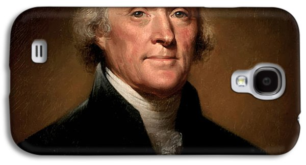 Celebrities Galaxy S4 Cases - President Thomas Jefferson  Galaxy S4 Case by War Is Hell Store