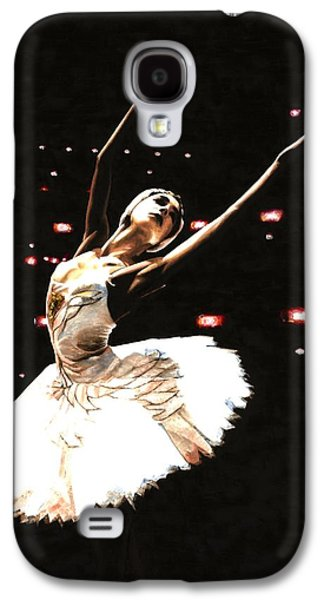 Swans... Paintings Galaxy S4 Cases - Prima Ballerina Galaxy S4 Case by Richard Young