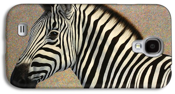 Stripes Paintings Galaxy S4 Cases - Principled Galaxy S4 Case by James W Johnson